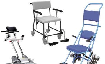Nowoczesne i funkcjonalne wózki do transportu chorych w pozycji siedzącej